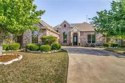 Sachse Single Family Home Active Option Contract: 5812 Lakeland Court