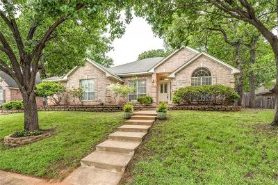 North Richland Hills Single Family Home Active Kick Out: 8409 Berkshire Drive