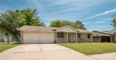 Watauga Single Family Home Active Option Contract: 6054 Fleming Drive