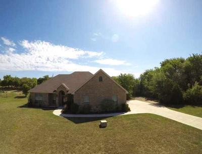 Azle Single Family Home Active Option Contract: 108 Hidden Forest Drive