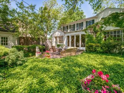 Single Family Home For Sale: 2723 Lovers Lane