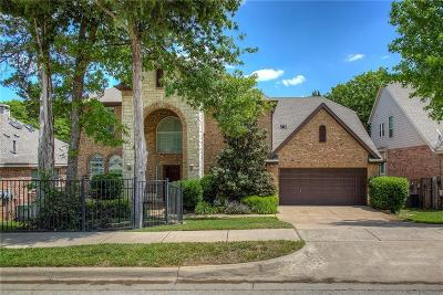 Grapevine Single Family Home Active Option Contract: 952 Fall Creek