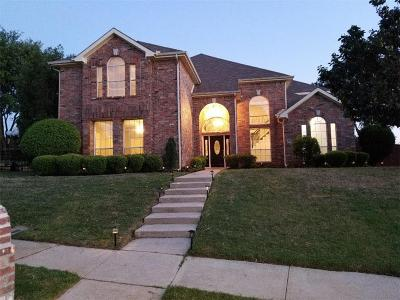 Lewisville Single Family Home Active Option Contract: 1422 Primrose Lane