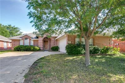 Rockwall Single Family Home Active Contingent: 814 Bear Branch Court