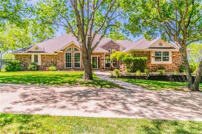 Weatherford Single Family Home Active Contingent: 201 Rustic Harbour Court