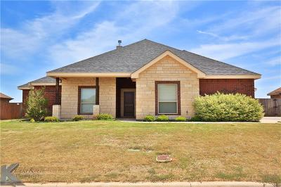 Abilene Single Family Home For Sale: 6409 Tradition Drive
