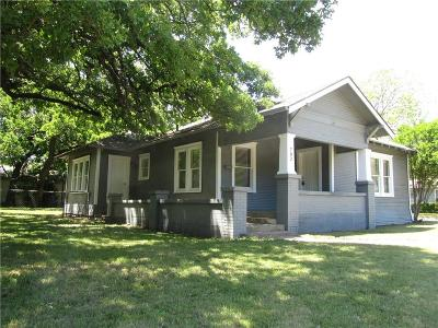 Cleburne Single Family Home Active Option Contract: 702 S Anglin Street