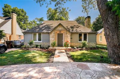 Single Family Home For Sale: 4525 Mockingbird Lane
