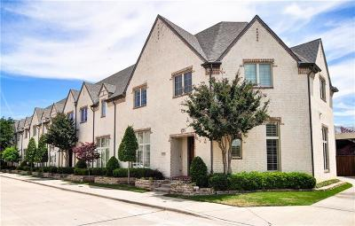 Dallas Townhouse For Sale: 17206 Lechlade Lane