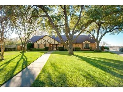 Rowlett Single Family Home Active Option Contract: 6510 Lakeshore Court