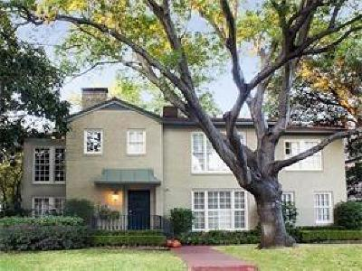 Highland Park Residential Lease For Lease: 4540 Westway Avenue