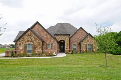Azle Single Family Home Active Option Contract: 133 Champions Way