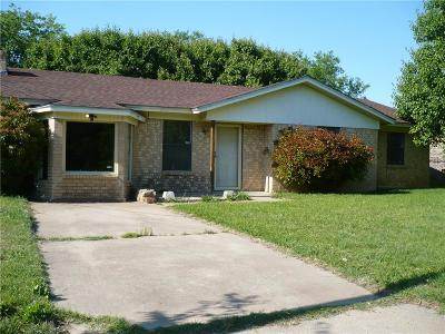 Mineral Wells Single Family Home For Sale: 1207 14th Street