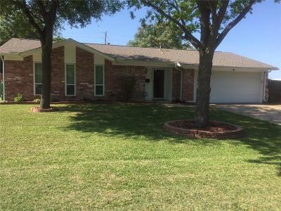 Mansfield Single Family Home Active Option Contract: 1011 E Dallas Street