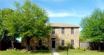 Allen Single Family Home For Sale: 1523 Rustic Trail