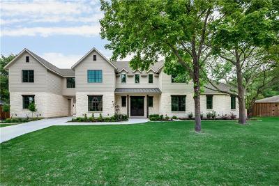 Dallas TX Single Family Home For Sale: $1,489,000