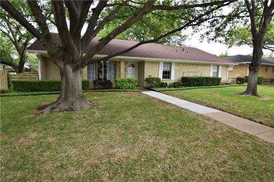 Plano Single Family Home Active Option Contract: 2400 Mollimar Drive