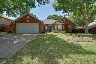 North Richland Hills Single Family Home Active Kick Out: 7921 Ember Oaks Drive