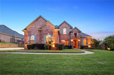 Grapevine Single Family Home Active Option Contract: 4007 Harvestwood Court