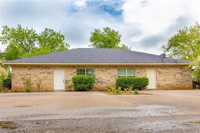 Pilot Point Multi Family Home For Sale: 216 E Walcott Street