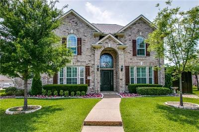 Coppell Single Family Home Active Option Contract: 404 Graywood Court