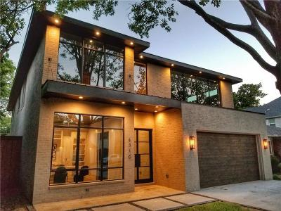 Dallas TX Single Family Home For Sale: $1,445,000