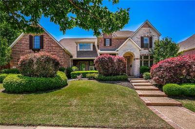 Lewisville Single Family Home Active Option Contract: 2612 King Arthur Boulevard