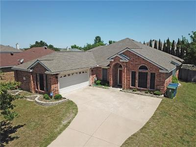 Sachse Single Family Home Active Option Contract: 3802 Remington Court