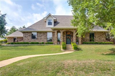 Weatherford Single Family Home Active Option Contract: 1918 Woodland Hills Lane