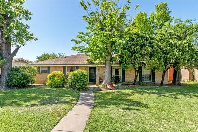 Garland Single Family Home Active Option Contract: 414 Quintana Drive