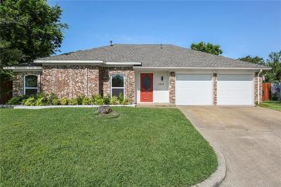 Allen Single Family Home Active Option Contract: 1111 Sandy Trail Drive