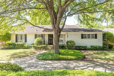 Single Family Home For Sale: 6446 Royal Lane