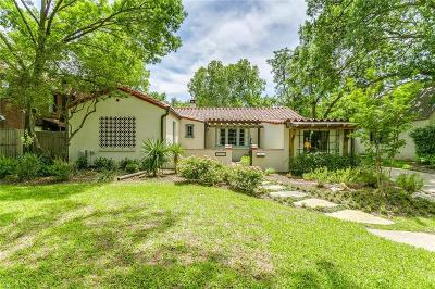 Fort Worth Single Family Home Active Option Contract: 4223 Pershing Avenue