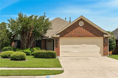 Keller Single Family Home Active Option Contract: 415 Pebblecreek Drive