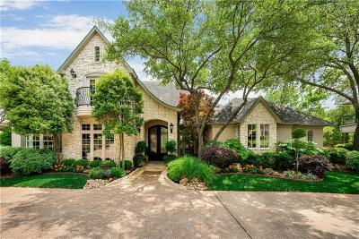 Grapevine Single Family Home Active Option Contract: 2207 Brookcrest Lane