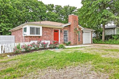 Mansfield Single Family Home Active Option Contract: 1303 Stone Creek Drive