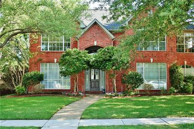 Coppell Single Family Home Active Option Contract: 208 Pecan Hollow Drive