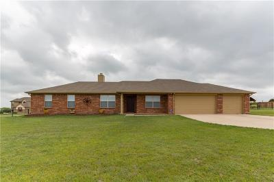 Weatherford Single Family Home Active Contingent: 166 Churchill Circle