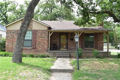 Mineral Wells Single Family Home For Sale: 2205 4th Avenue