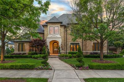 Colleyville Single Family Home For Sale: 7004 Reverchon Court
