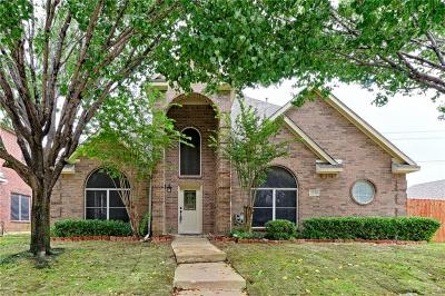 Lewisville Single Family Home For Sale: 2039 Camelot Drive