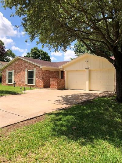 Arlington Single Family Home For Sale: 4000 Lynbrook Lane