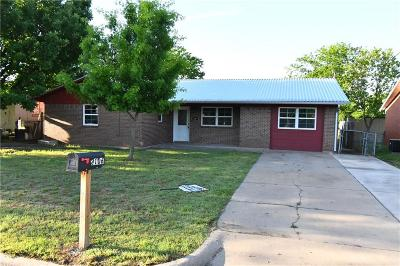 Mineral Wells Single Family Home For Sale: 2106 SE 21st Street