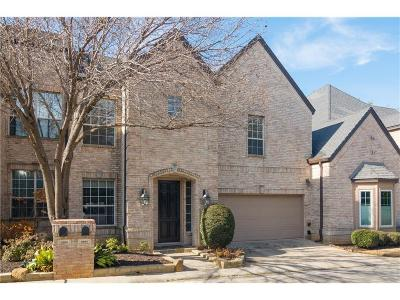 Colleyville Townhouse For Sale: 3984 Witten Drive