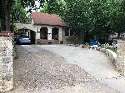 Dallas Single Family Home For Sale: 2322 Vagas Street