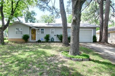 Fort Worth Single Family Home Active Contingent: 7224 Greenlee Street