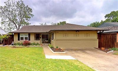 Richardson Single Family Home Active Option Contract: 739 James Drive