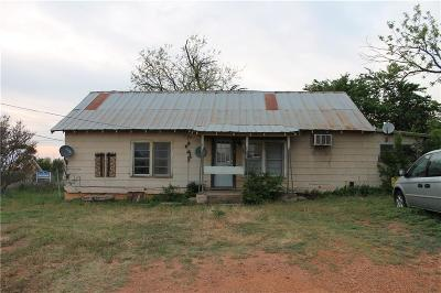 Cisco TX Single Family Home For Sale: $18,000
