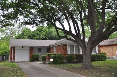 Dallas Single Family Home For Sale: 2711 Lockhart Avenue