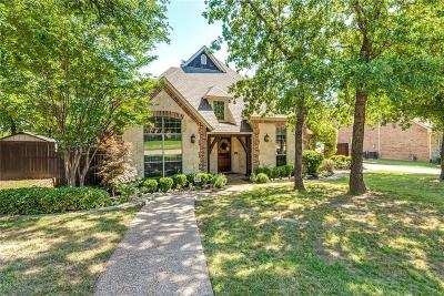 Keller TX Single Family Home Active Option Contract: $599,900